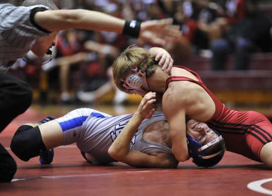 High Schools Wrestling Boner