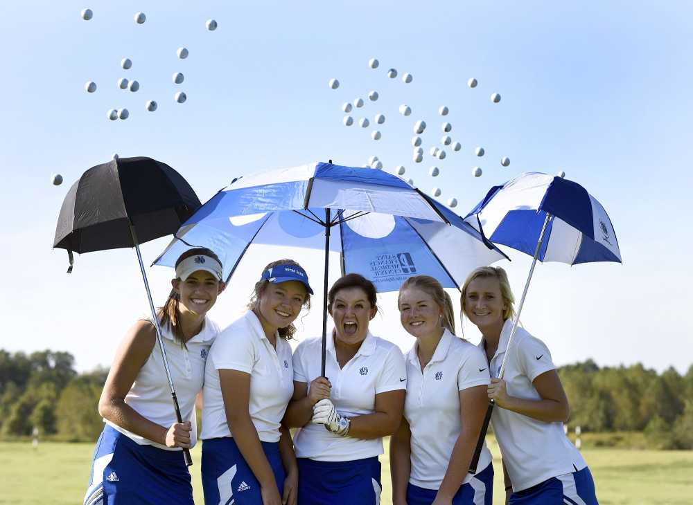 Notre Dame girls golf team will make first appearance at state tournament today