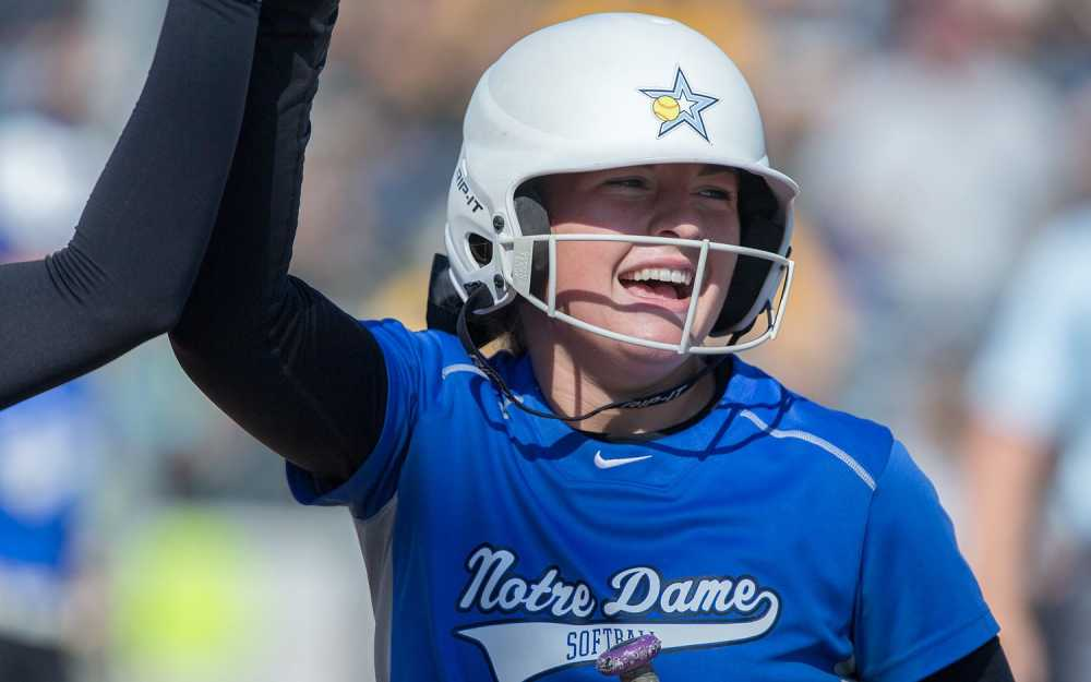 Walk-off single by Sullivan sinks Notre Dame softball in state semifinal