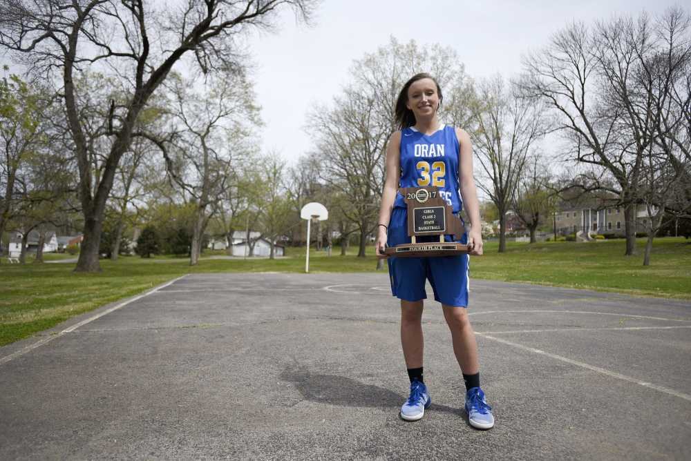 Continued growth earns Cauble title of Southeast Missourian Girls Basketball Player of the Year