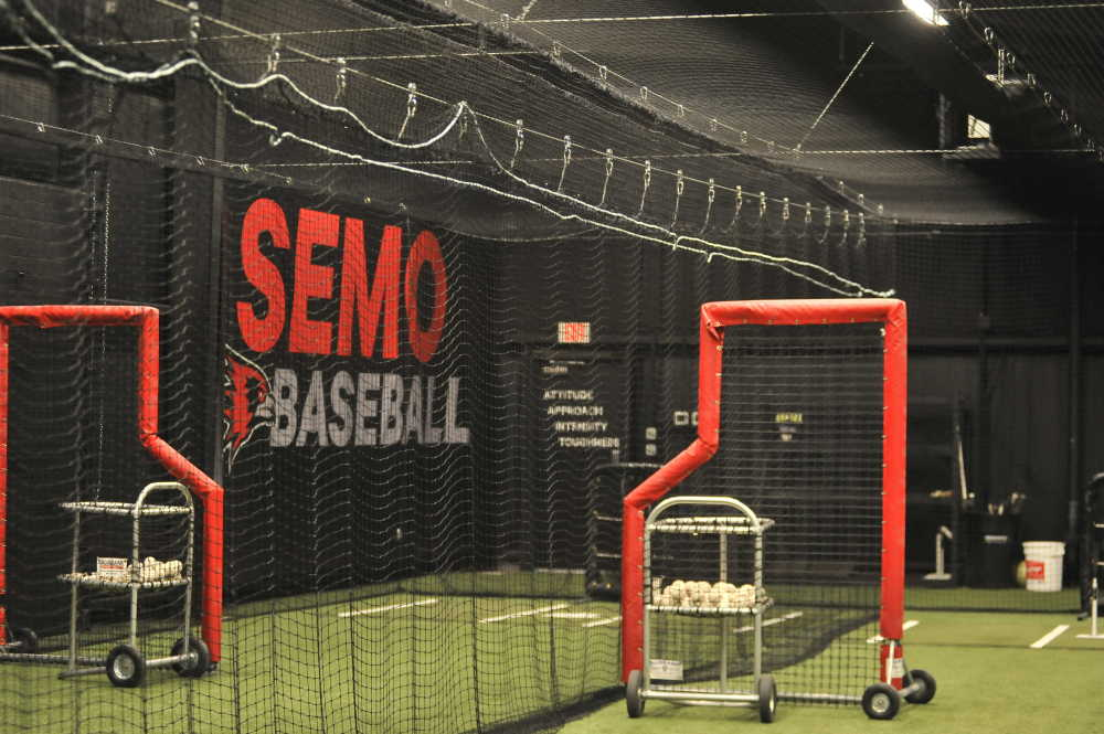 SEMO baseball unveils indoor facility that was years in the making
