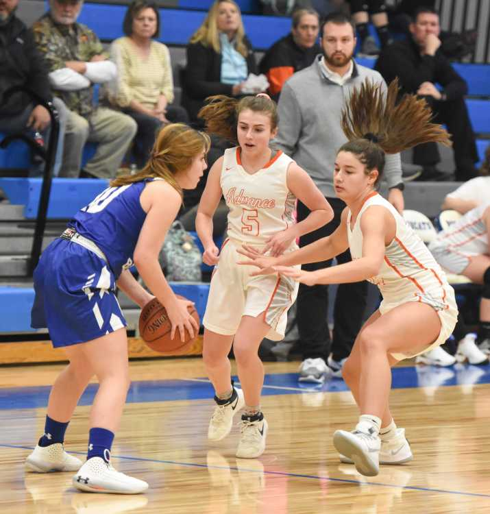 Young Advance girls program takes home another trophy; first-year Oak Ridge varsity hopes to follow in Hornets' footsteps