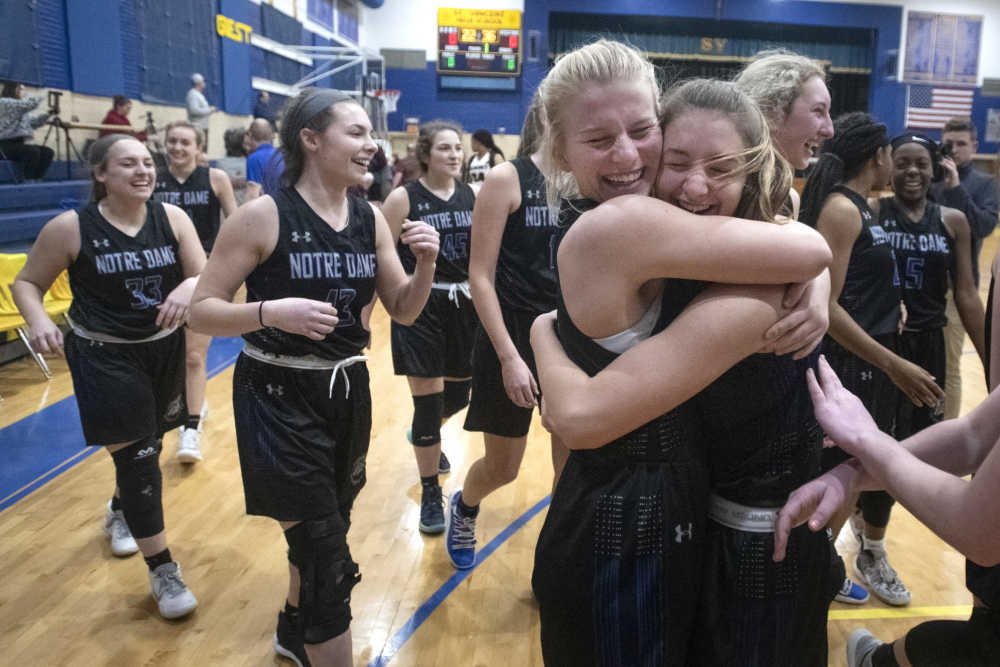 Class 4 quarterfinals: Notre Dame vs. Rockwood Summit girls basketball