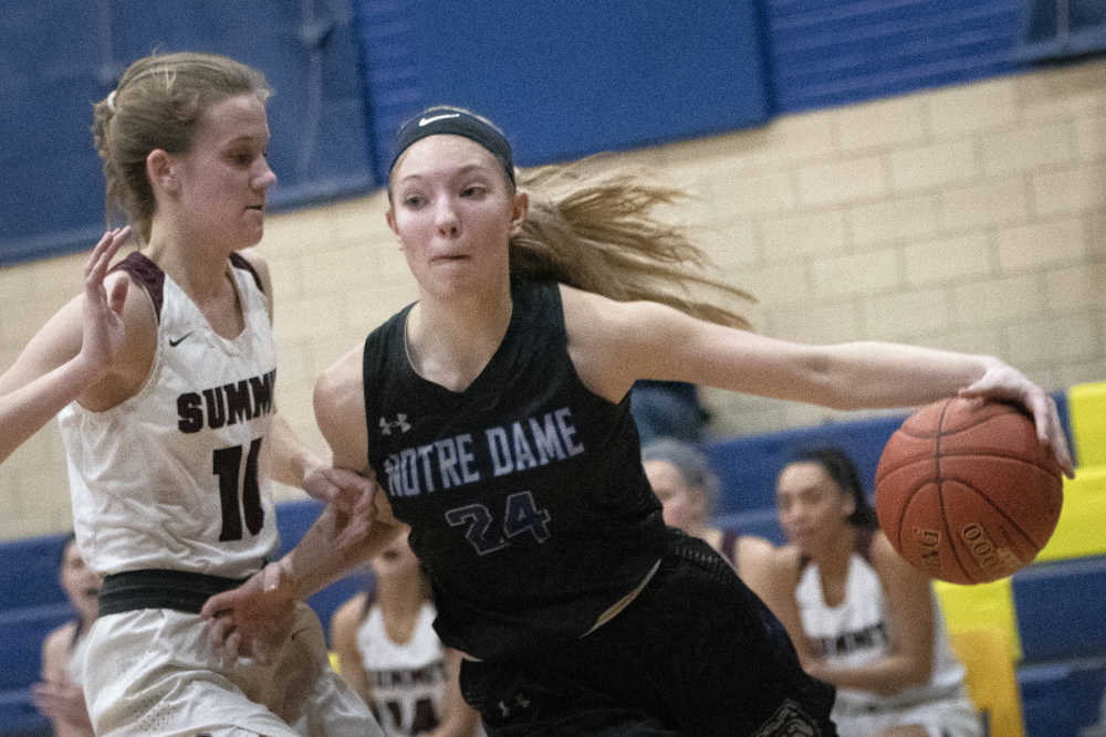 The Rubels shine as Notre Dame girls basketball advances to the Class 4 semis