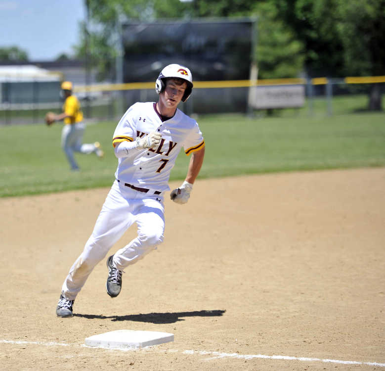 Senior baseball players highlight Sunday afternoon with a tripleheader at Chaffee