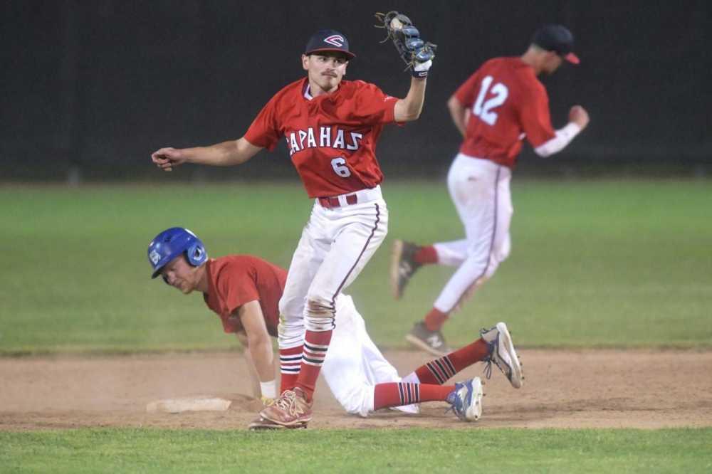 Capahas take two of three to begin the 2020 summer league baseball season