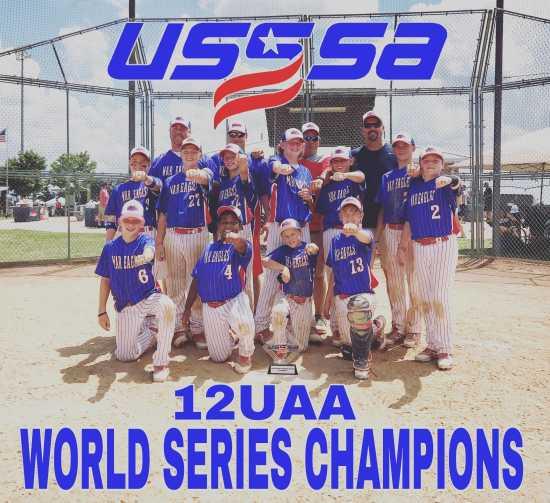 Youth Sports: SEMO War Eagles 12U AA USSSA WORLD SERIES CHAMPS (7/10